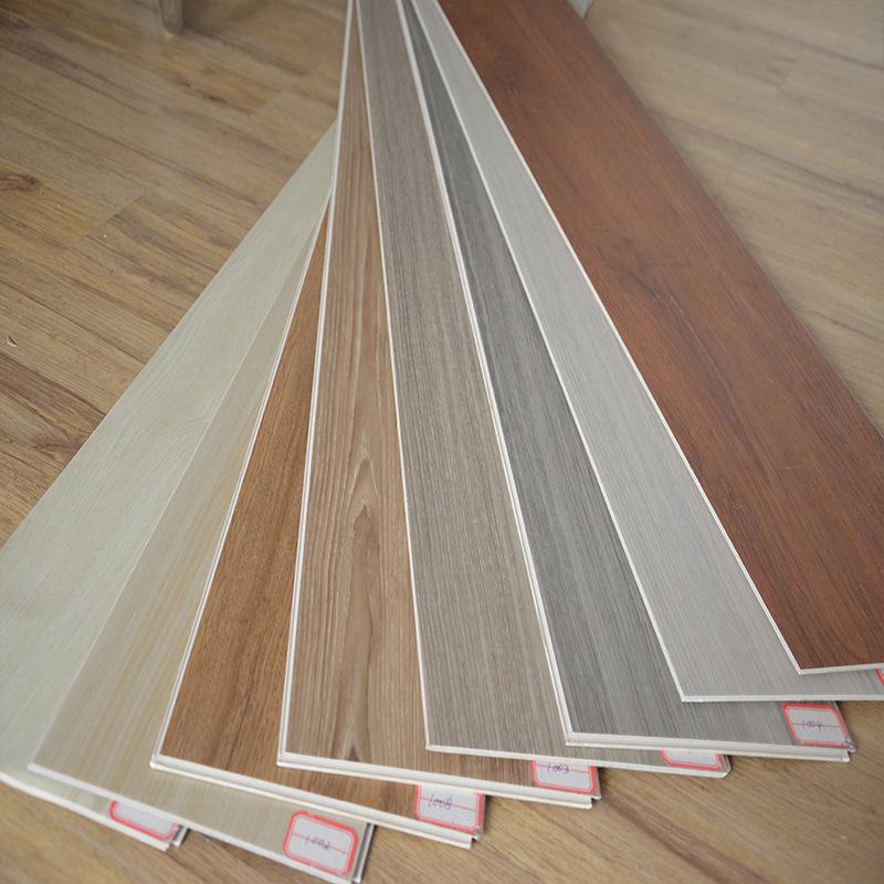 JIEZHUANG Ván sàn Vật liệu mới nền trắng khóa spc sàn nhựa PVC sàn nhựa cho người tiêu dùng và nhà m
