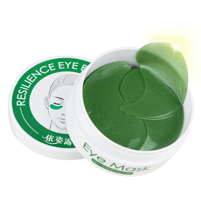 Yizilu Mặt nạ mắt Yizilu Green Princess 60 'Pack Hydrogel Eye Mask Nâng và làm mỏng mắt Mỹ phẩm chă