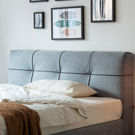 KUKa  giường  Kinh nghiệm! Gujia căn hộ nhỏ có thể tháo rời và lưu trữ có thể giặt được giường đôi v