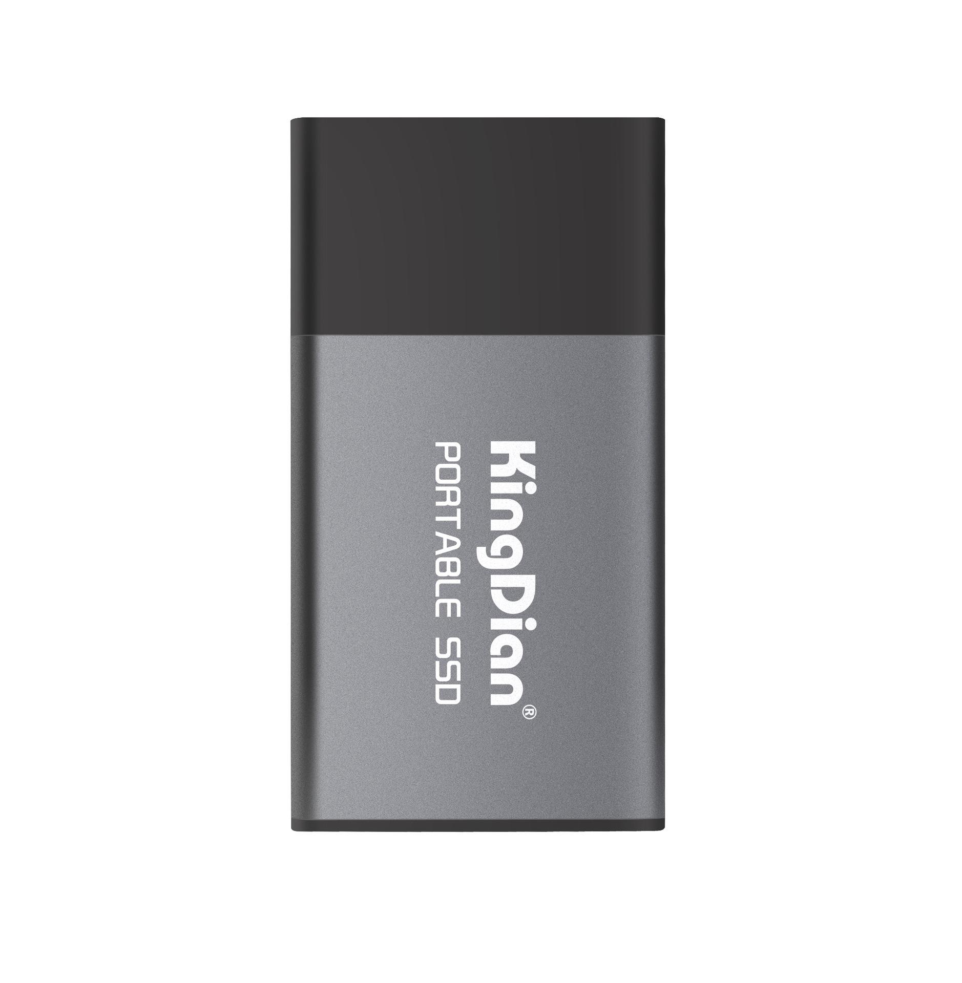 KINGDIAN Ổ cứng SSD Mã vàng P10 120G / 250G / 500GB TYPE-C Ổ cứng thể rắn di động USB3.0 Slim