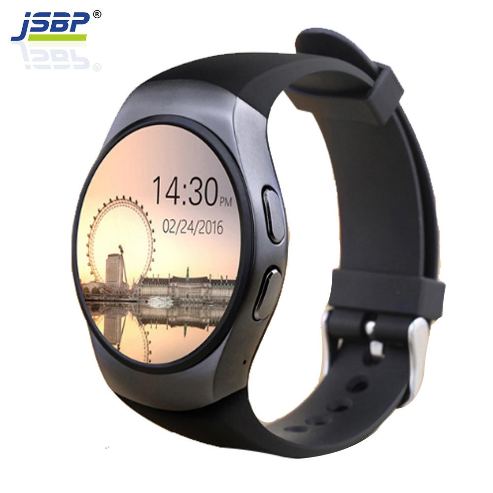 Đồng hồ thông minh JSBP KW18 có thể chèn thông tin thẻ đồng bộ hóa máy đo nhịp tim Bluetooth