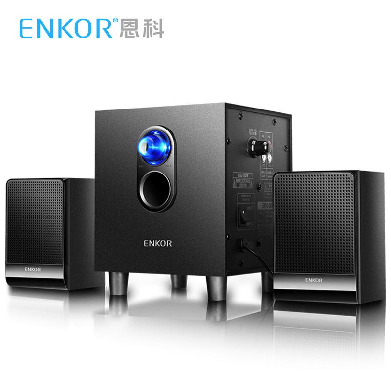 ENKOR Thị trường âm h ưởng Enco ENKOR E300 Máy tính xách tay Đa phương tiện Âm thanh Máy tính Loa 2.