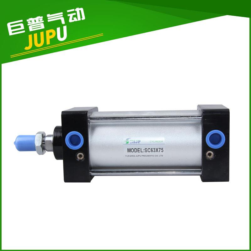 JUPU Ống xilanh Tiêu chuẩn SCJ60 * 125 xi lanh điều chỉnh lực đẩy cao SCJ với các nhà sản xuất linh