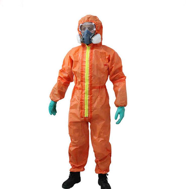 3M Trang phục bảo hộ 4690 Quần áo bảo hộ một mảnh bảo vệ hiệu quả chống bụi và các hạt có hại