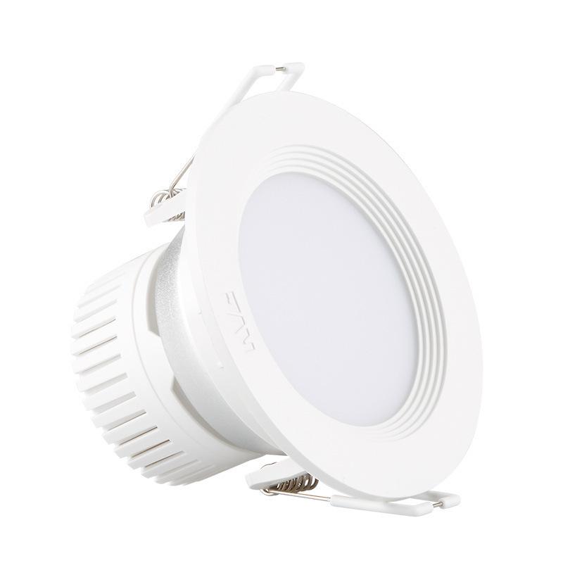 NVC Đèn trần Đèn chiếu sáng NVC led downlight 4W thùng ánh sáng phòng khách trần trần lối đi kỹ thuậ