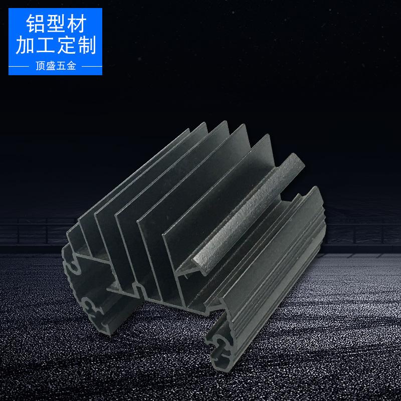 DINGSHENG Vật liệu dị dạng Phật Sơn tiêu chuẩn quốc gia công nghiệp mật độ cao răng tản nhiệt nhôm h