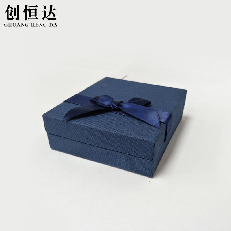 CHUANGHENGDA Hộp trang sức Nhà máy trực tiếp hộp trang sức bông tai hộp cung trang sức hộp vòng cổ h