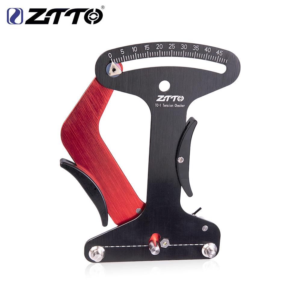 ZTTO Thị trường công cụ Công cụ chỉnh sửa xe đạp xuyên biên giới ZTTO Máy đo độ căng dây bánh xe Bán