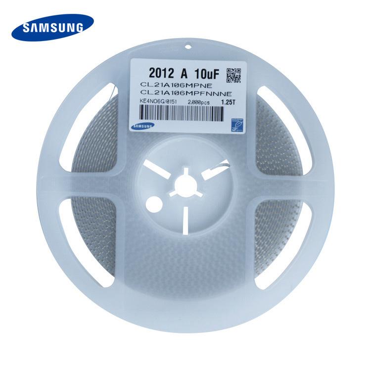 Samsung Tụ Ceramic Tụ điện gốc Samsung CL21A106MPFNNNE 0805 106K 16V 2012 A 10uF
