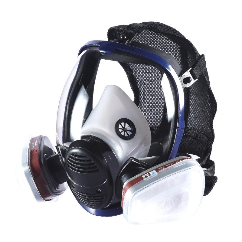 Mặt nạ phòng chống khí độc Mặt nạ phòng độc khí Dawei mặt nạ lớn hình cầu lĩnh vực lớn silicone phun