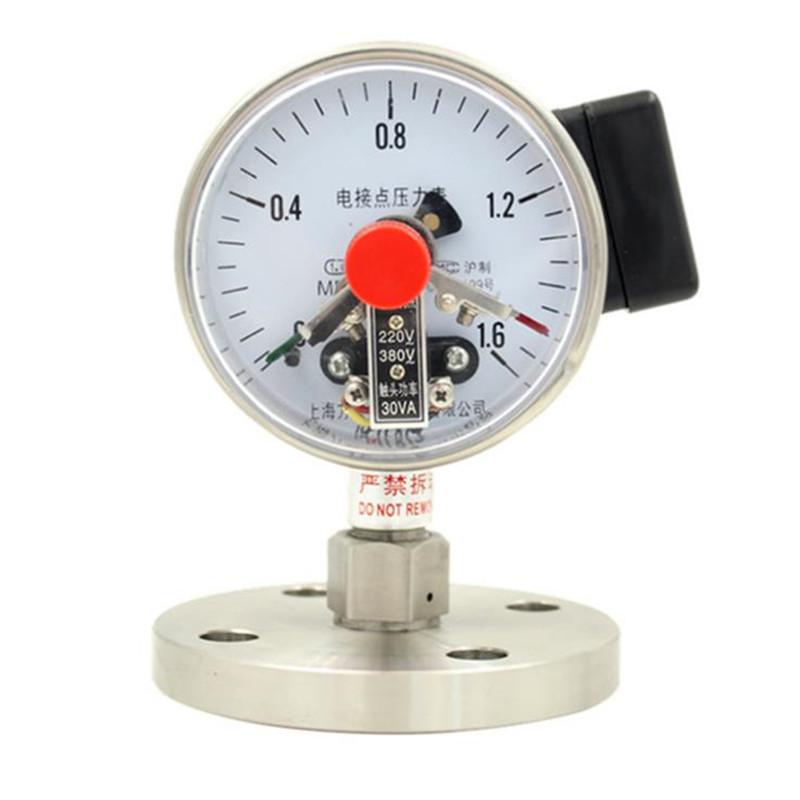 ZHONGCHONG Đồng hồ đo áp suất Chuyên sản xuất đồng hồ đo áp suất địa chấn bằng thép không gỉ YB-100M
