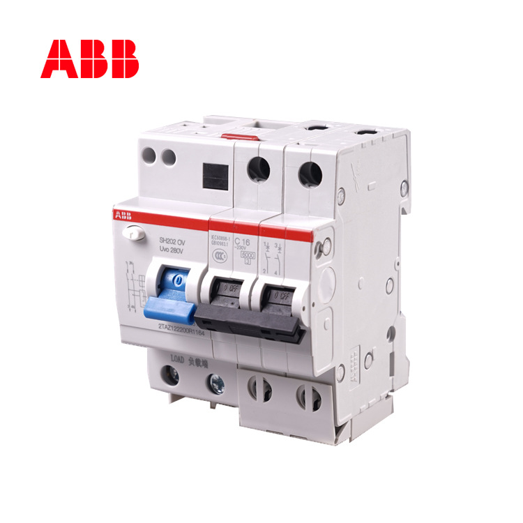 Bộ ngắt mạch thu nhỏ ABB 40A hộ gia đình 2P /SH202-C40 OV