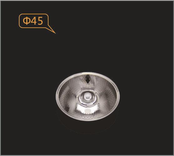 GERUI Đèn LED thấu kính Ống kính COB, ống kính spotlight nhỏ, ống kính mạ kẽm, GLA-4510