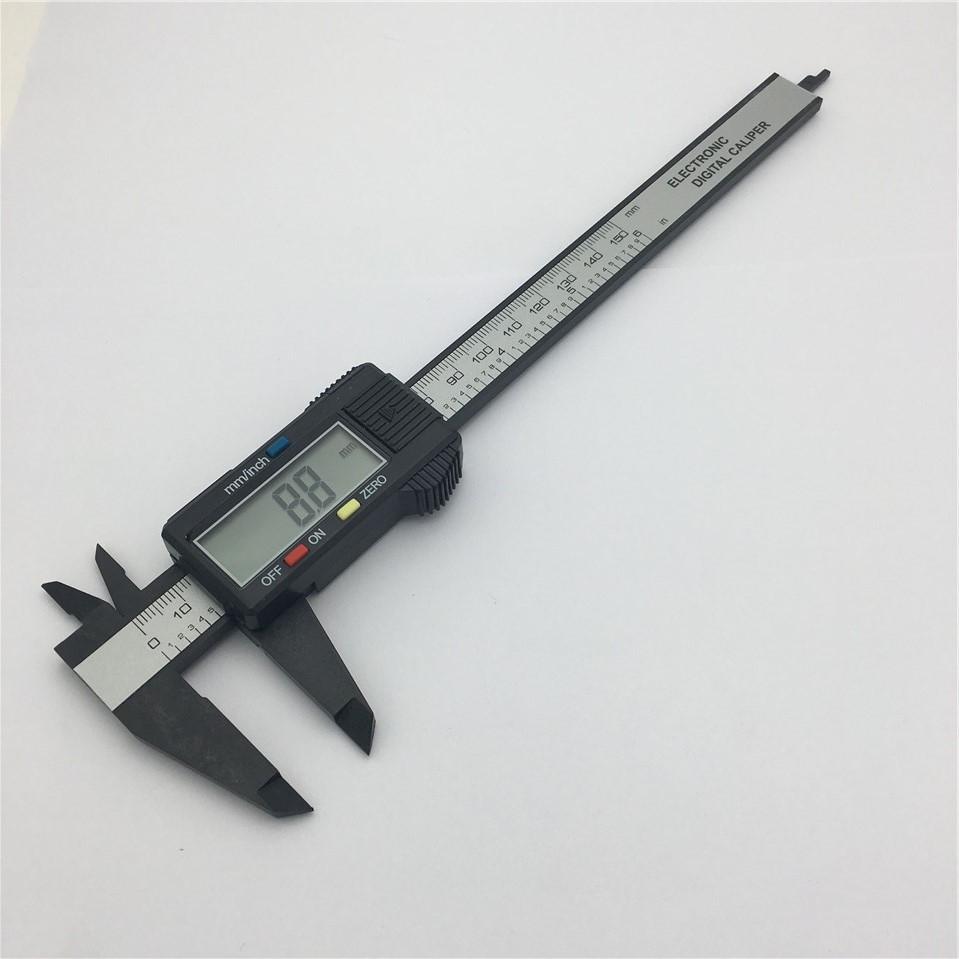 OEM Thước kẹp điện tử Màn hình kỹ thuật số điện tử vernier caliper 0-150mm công cụ đo kỹ thuật số bằ