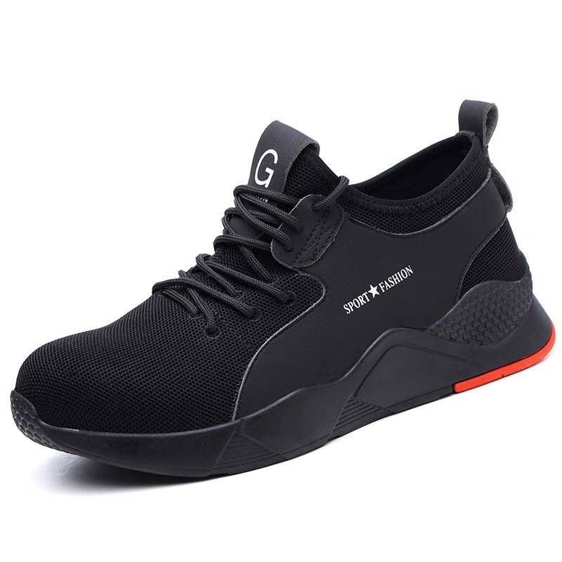 Giày thời trang cho nam chống va đập với Mũi giày bằng thép thoáng khí