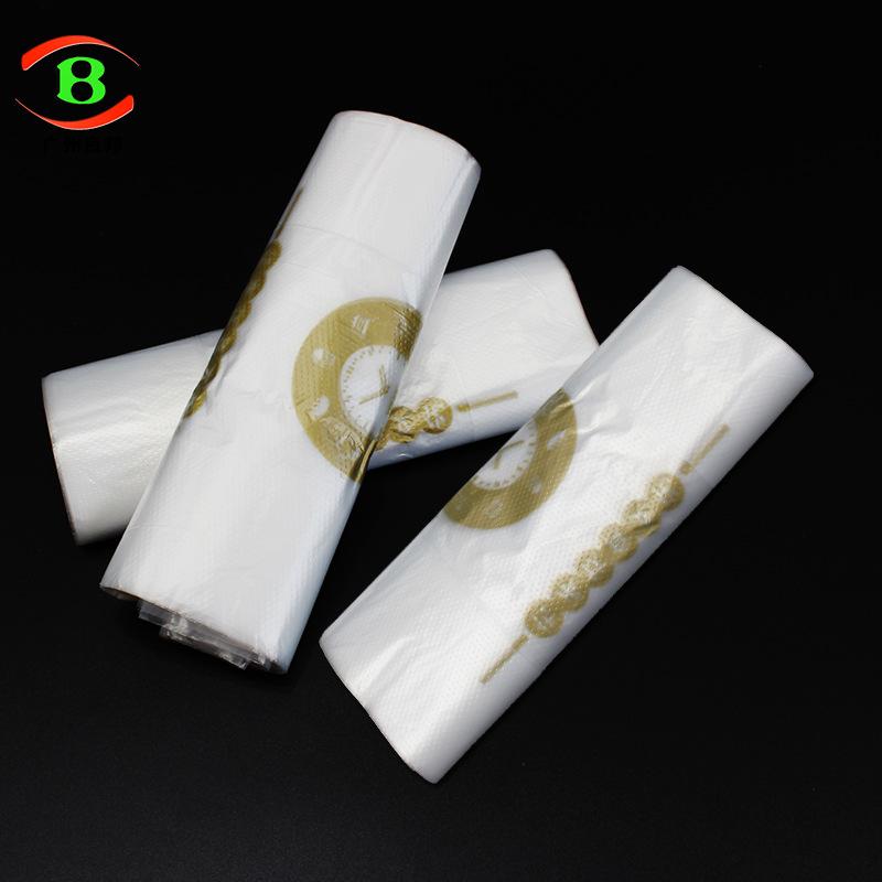 LIANGBANG Túi xốp 2 quai Chung túi takeaway đóng gói tại chỗ thời trang bao bì nhựa túi chuỗi nhà hà