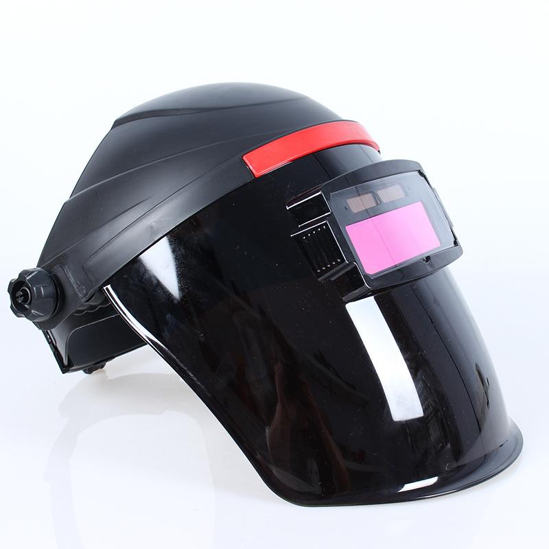 HANFANG Thị trường bảo hộ lao động Mặt nạ hàn biến quang hoàn toàn tự động với hàn bảo vệ mặt nướng