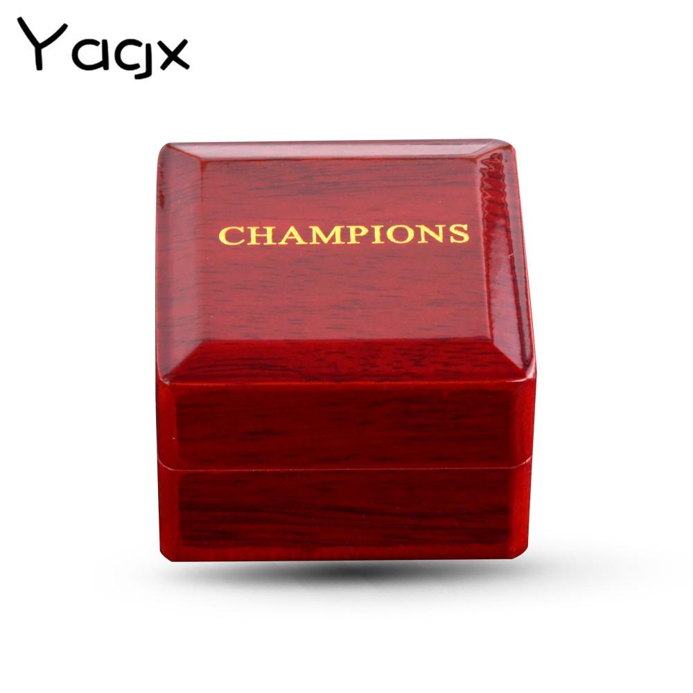 YAGX Hộp trang sức Cửa hàng châu Âu và Mỹ trang trí cao cấp bán buôn nhẫn vô địch hộp gỗ hộp quà tặn
