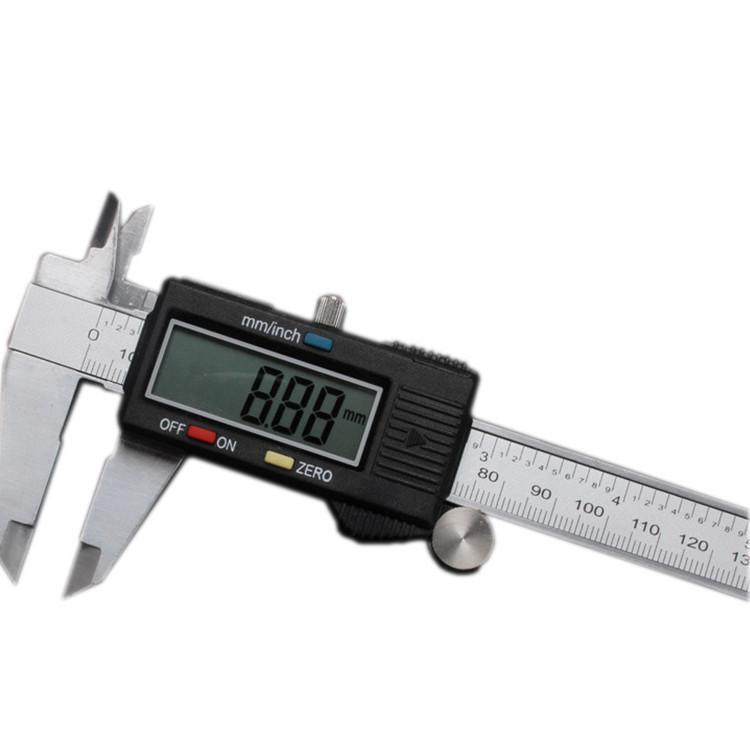 CHIXI Thước kẹp điện tử Caliper kỹ thuật số Vernier Caliper Điện tử Caliper Vernier Caliper 0-150mm