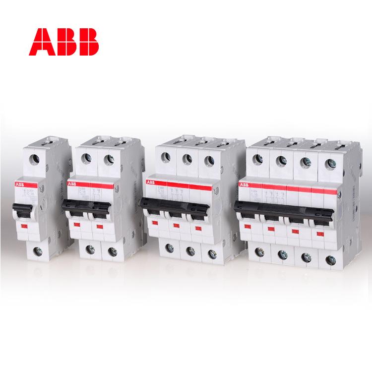 Cầu dao CB Bộ ngắt mạch thu nhỏ ABB S200 series 25KA AC 1P đơn cực C đặc trưng 16A