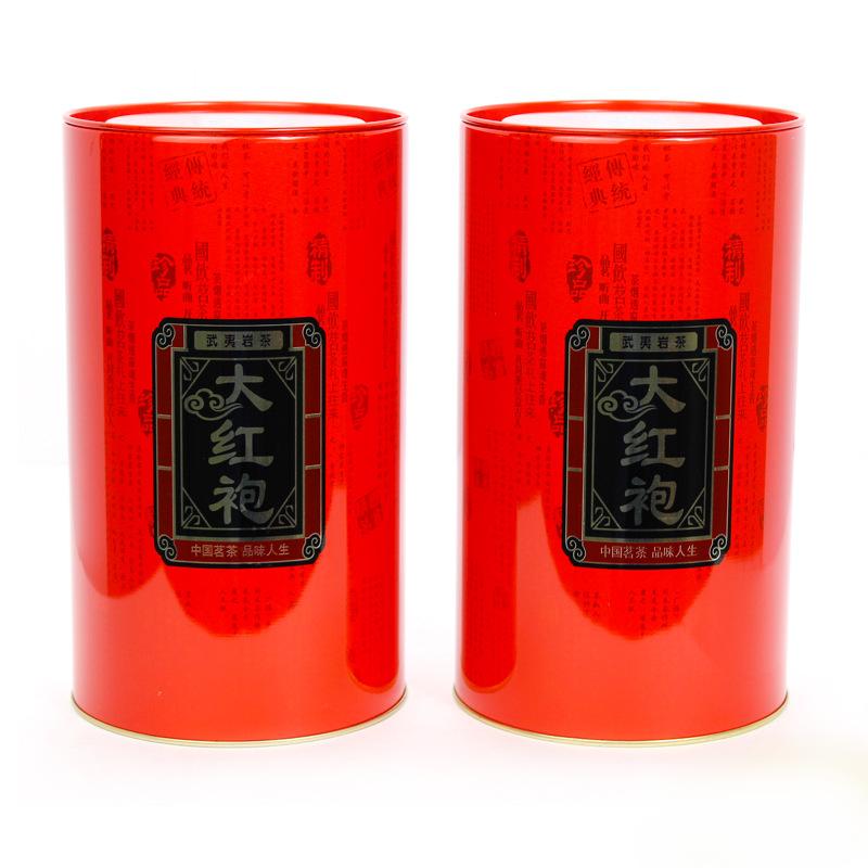 MAISHI Hũ kim loại Nguồn nhà sản xuất lớn tùy chỉnh lớn áo choàng sắt màu đỏ thiếc thiếc có thể tròn