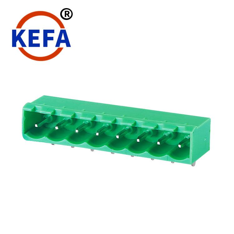 KEFA Cầu đấu dây Domino Cặp thiết bị đầu cuối khối bổ trợ Kefa cặp nam và nữ KF2EDGRC-5.08 Kiểu trìn