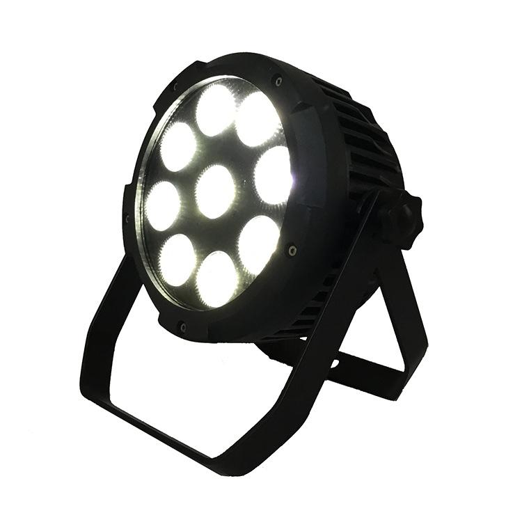 Đèn sân khấu Mới 9 chiếc 18W 6 màu RGBWA UV LED pin không dây