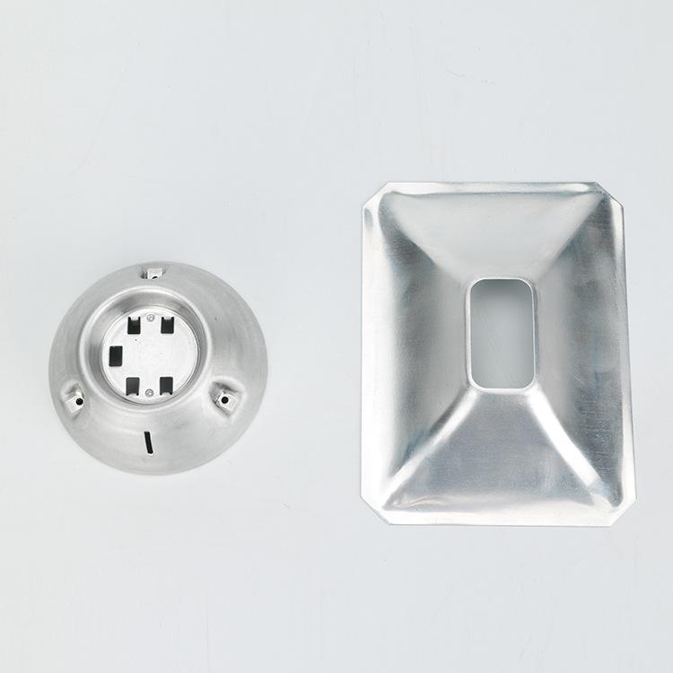 STF Cup phản quang Gương phản chiếu nhôm gương vuông có độ dày 0,3 mm Giá tản nhiệt nhôm gương phản