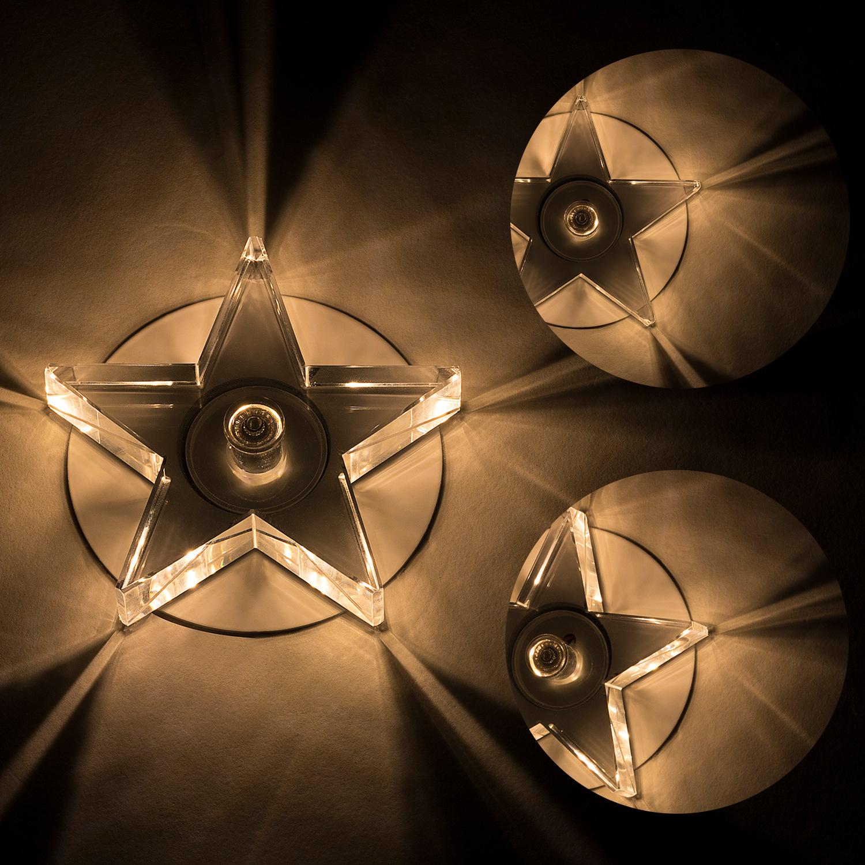 WHGC Đèn trang trì Bán trực tiếp k9 pentagram led trần downlight hiện đại phòng khách trần downlight