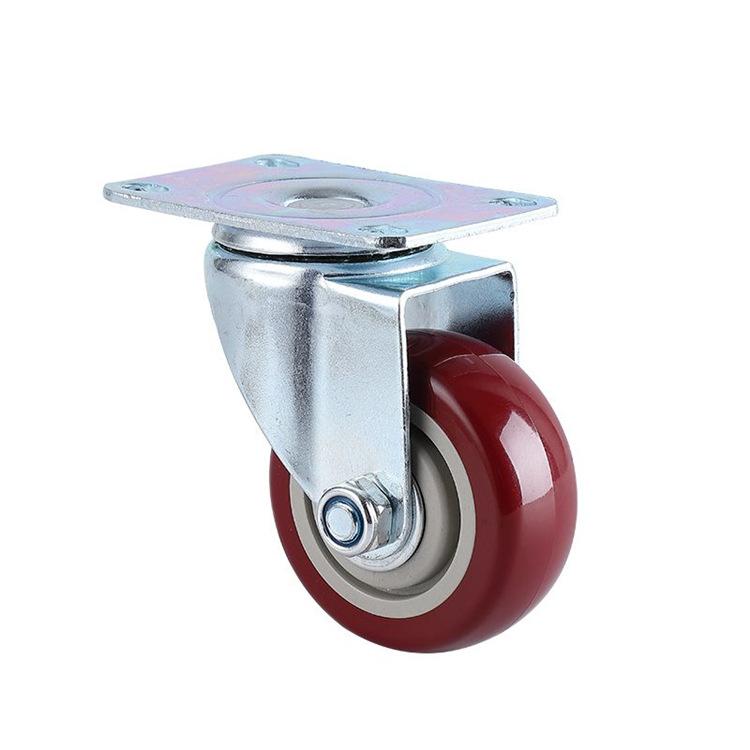 Zhonghou bánh xe đẩy(Bánh xe xoay) caster 2.5 3 inch 3.5 inch 4 inch Bánh xe phổ thông 5 inch