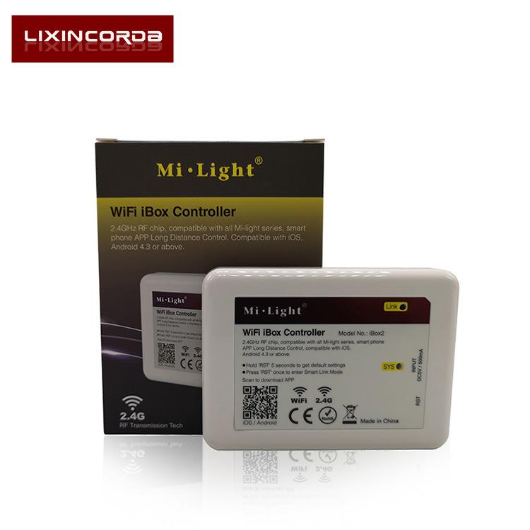 LIXINCORDA Thiết bị điều khiển đèn Đèn led wifi mới thông minh 2017 với bộ điều khiển đèn màu điều k