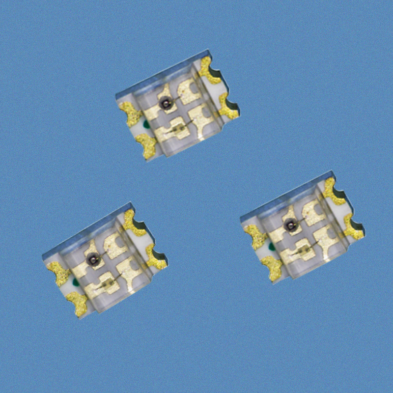 XILAN LED dán 0805 đỏ, vàng, xanh lá cây, hai màu, đỏ, xanh lục, hạt chỉ thị hai màu, đèn LED vá hai