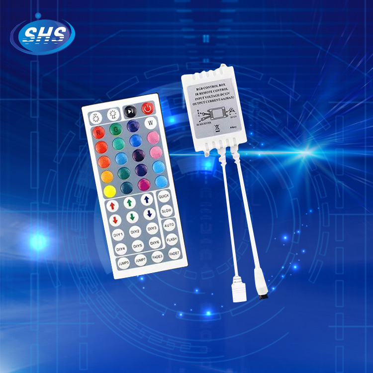SHENHAISHENG Thiết bị điều khiển đèn Cung cấp 44 phím điều khiển hồng ngoại ledrgb ánh sáng thanh vớ