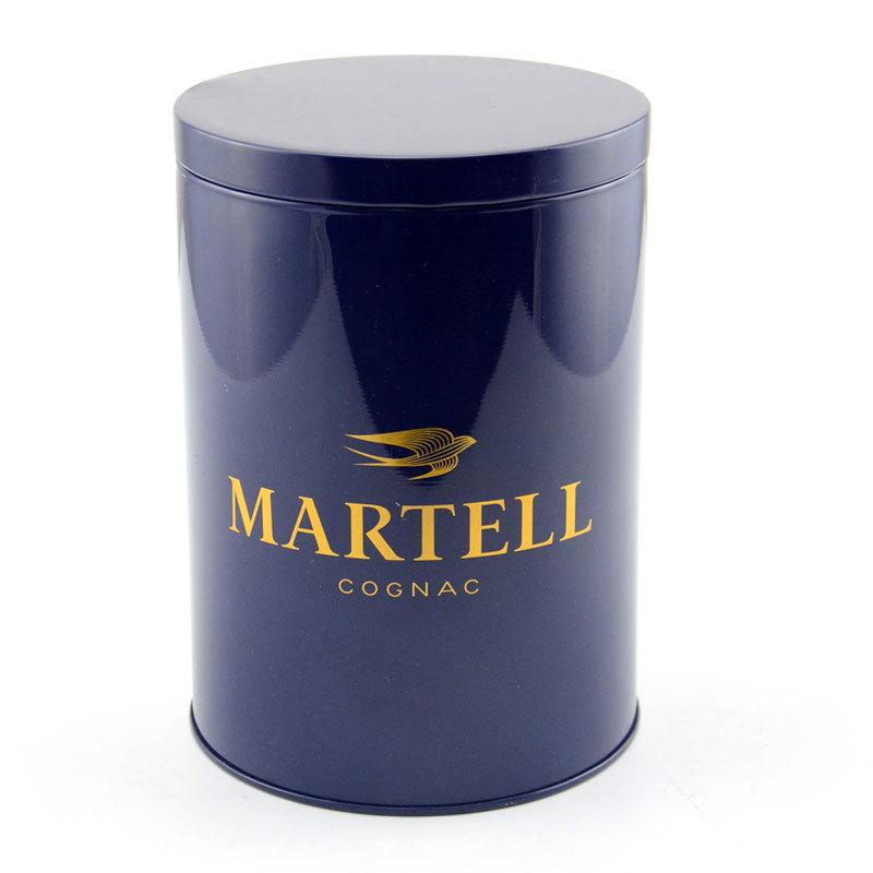 Hũ kim loại Các nhà sản xuất hộp thiếc tròn tùy chỉnh hộp thiếc hộp tròn phổ thông hạng nhất lon kim