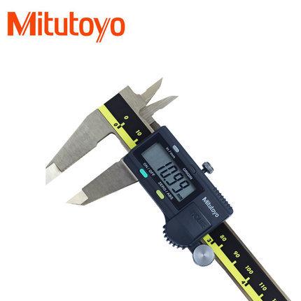 Mitutoyo Thước kẹp điện tử Calutoyo Mitutoyo Verniper Caliper Caliper kỹ thuật số Mitutoyo Caliper M