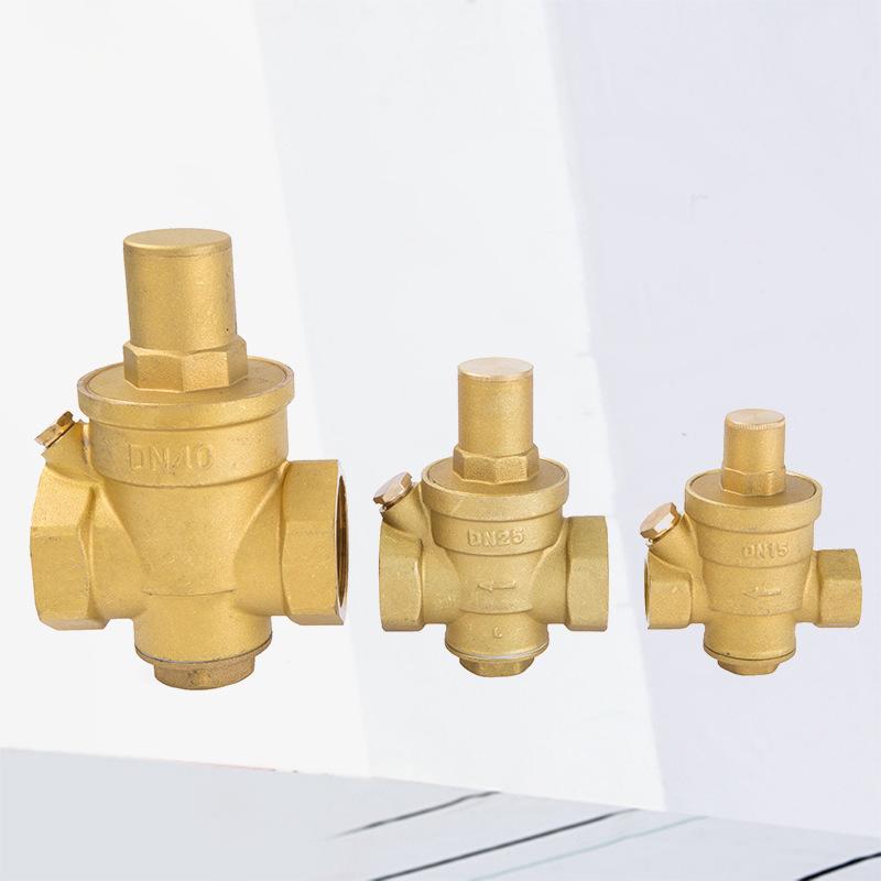 LS Van Nhà máy trực tiếp bán đồng thau giảm áp van 719 piston điều chỉnh van áp suất không đổi 4 điể
