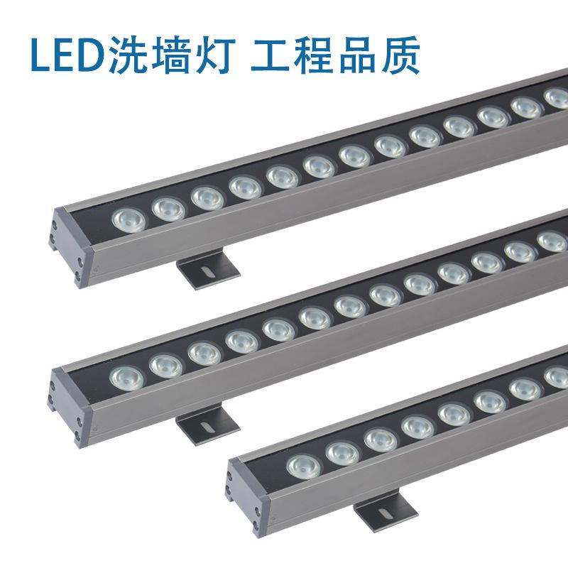 JIANFENG Đèn LED Wall Washer Nhà sản xuất máy giặt treo tường LED chuyên nghiệp DMX512 chiếu sáng tò