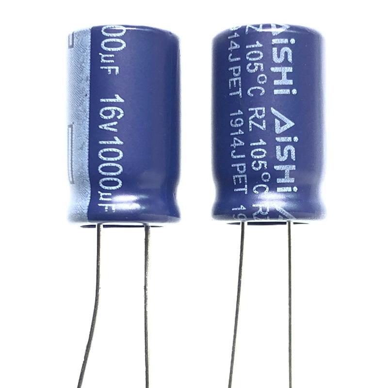 GOIC Tụ điện Đại lý Aihua tụ điện điện phân RS series 470uf 25v 8x16 7000 giờ điện trở cao tần số th