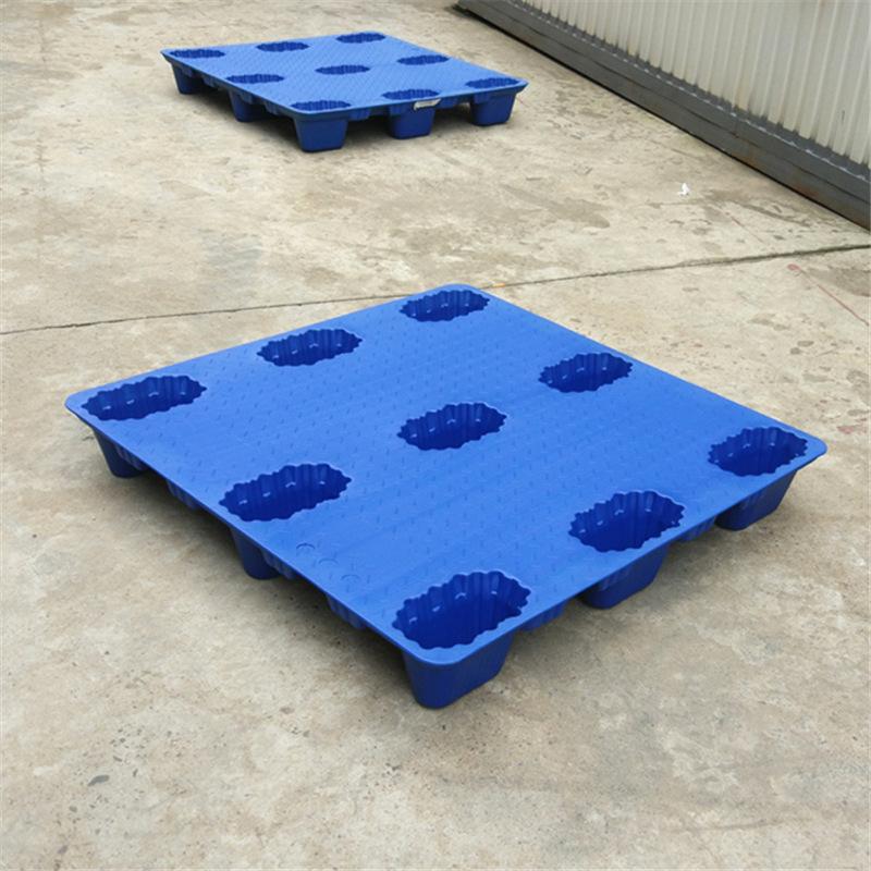 Mâm nhựa / Pallet nhựa Giang Tô Kaiguan Hollow Thổi nhựa Pallet Xe nâng Kệ lưu trữ Mat Đệm Ban Nhựa
