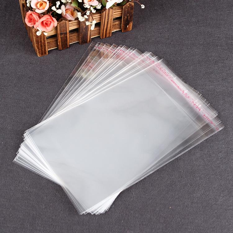 BOYANG Túi opp Nhà sản xuất tùy chỉnh quần áo trong suốt túi nhựa tự dính túi opp tùy chỉnh bao bì t