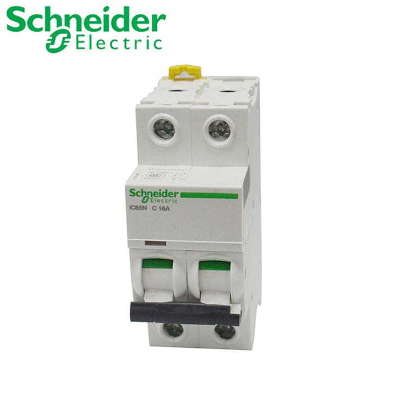 Bộ ngắt mạch thu nhỏ Schneider A9 / IC65N Loại C Thiết bị bảo vệ rò rỉ .