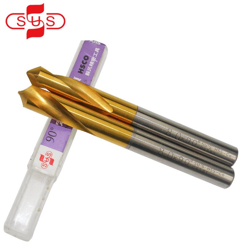 SUS Đầu khoan Mũi khoan cố định bằng thép tốc độ cao của Su-NC, mũi khoan cố định mạ titan có chứa c