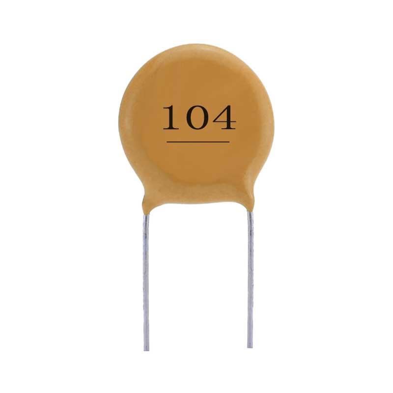 ZHIXU Tụ Ceramic Tụ gốm gốm đất thay thế 104 50V SMD Thay thế tụ điện cao áp gốm cao áp trực tiếp tạ