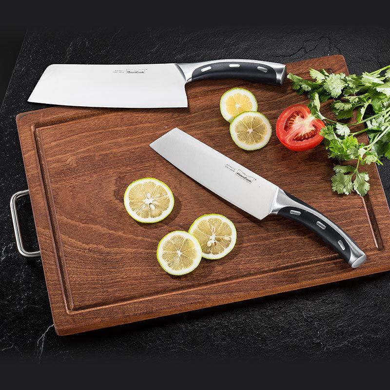 Momscook Công cụ dao Mu bếp bếp dao nhà Đức thép không gỉ cắt bếp dao dao thịt dao dao đầu bếp dao