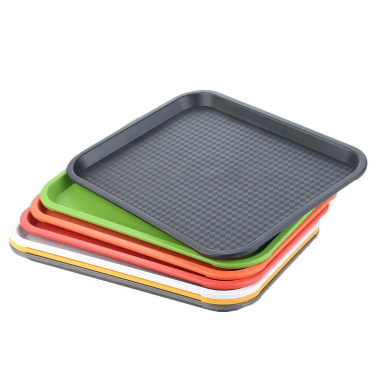 MINGGANG Mâm nhựa / Pallet nhựa Khay nhựa hình chữ nhật PP mới / Khay nhựa thức ăn nhanh / Khay thức
