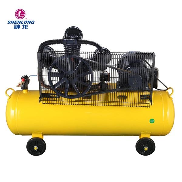 SHENLONG Máy nén khí Thượng Hải Shenlong V0.6 / 8 Máy nén khí Piston Trang trí Bơm hơi Sửa chữa Sửa