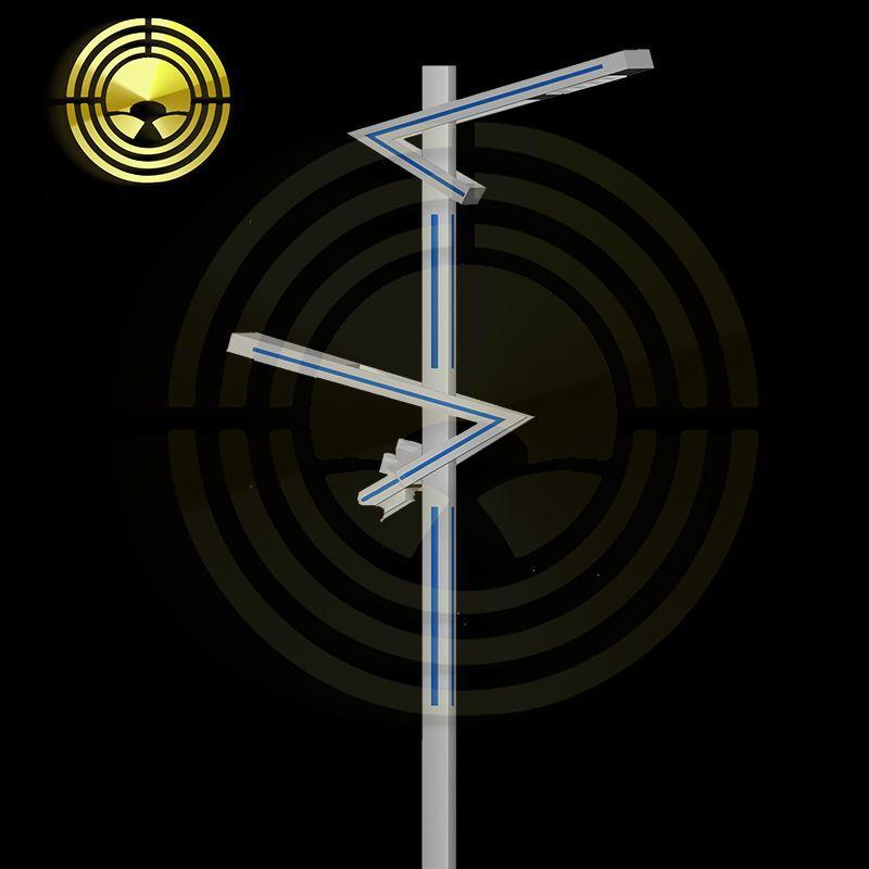 LYHS Đèn LED sân vườn Xuyên biên giới dành riêng cho đèn sân vườn mới led đèn đường cảnh quan đèn sâ