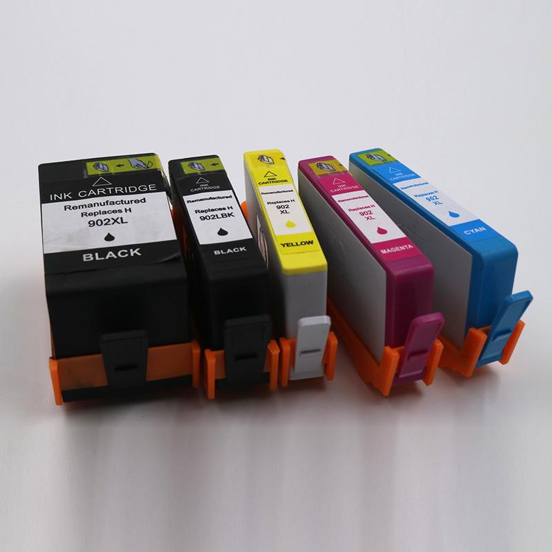AIBEISI Hộp mực nước 902 Hộp mực máy in Laser cho OfficeJet Pro 6960/6968/6975/6978