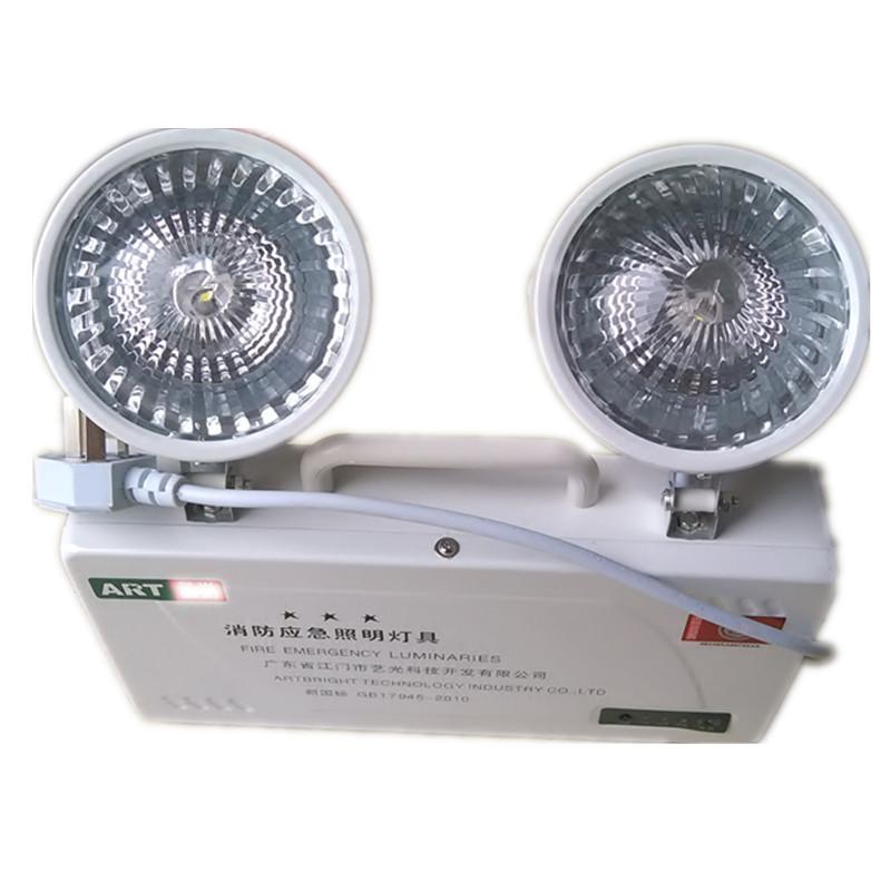 Minhua Đèn LED khẩn cấp cứu hỏa khẩn cấp ánh sáng khẩn cấp chỉ số sơ tán an toàn lối thoát đôi