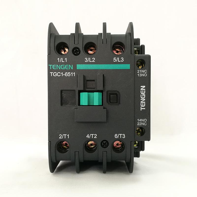 Công tắc tơ Tianzheng Electric TGC1-6511 thay thế công tắc tơ CJX2-6511 AC